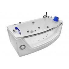 Masažinė vonia MAZUR MO-0055 175x89cm dvivietė