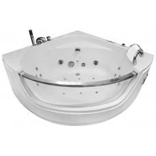 Masažinė vonia AMO-0057 BIANCO  135x135cm