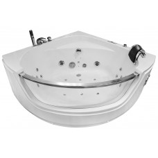 Masažinė vonia AMO-0057 NERO 135x135cm