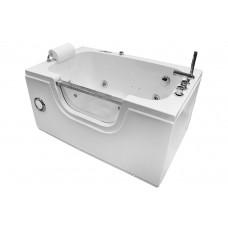 Masažinė vonia MAZUR  MO-0058 130x81cm