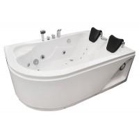 Masažinė vonia AMO-0205 170x115cm dvivietė, dešinė
