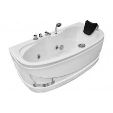 Masažinė vonia MAZUR  MO-0310 160x78cm