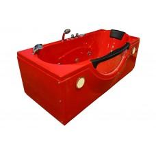 Masažinė vonia AMO-1002R RED 180x85 cm.