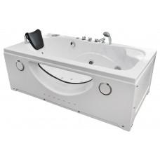 Masažinė vonia MAZUR  MO-1633 169x87cm