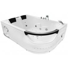 Masažinė vonia MAZUR  MO-1665 180x120cm dvivietė