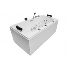 Masažinė vonia MAZUR MUE-0011A 180x90cm dvivietė