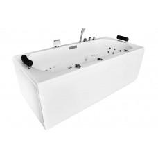 Masažinė vonia MAZUR MUE-0013A 200x90cm dvivietė