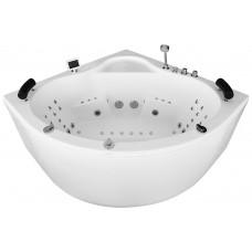 Masažinė vonia MAZUR MUE-002A 150x150cm dvivietė