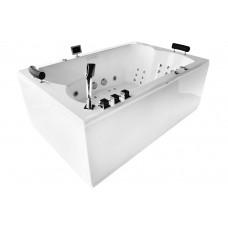 Masažinė vonia MAZUR MUE-0052A 180x120 dvivietė