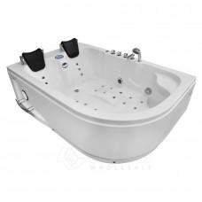 Masažinė vonia AMO-1631L Kairė 180x120 cm.