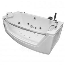 Masažinė vonia AMO-0055 BIANCO dvivietė 175x89 cm.