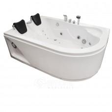 Masažinė vonia AMO-0205L dvivietė 170x115 cm. kairė