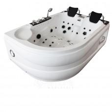 Masažinė vonia AMUS-1062R AKYLOS dvivietė 180x120 cm.