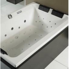 Masažinė vonia RIHO CASTELLO Flow 180x120