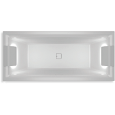 Akrilinė vonia RIHO STILL SQUARE LED 180x80 cm. LR