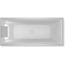 Akrilinė vonia RIHO STILL SQUARE LED 170x75 cm.