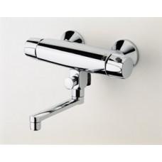 Maišytuvas voniai/dušui ORAS Nova 30 cm snapeliu, kairinis