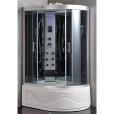 Masažinė Dušo Kabina ET-9002, Kairė 130x85 cm.