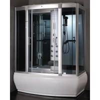 Masažinė dušo kabina ET-9007 170x90, su garo pirtimi