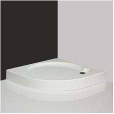 Pusapvalė dušo vonelė iš supresuotų sluoksnių  SaniPro Dream-P 90x90